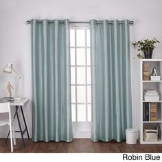 ATI Home Chatra Grommet Top Panel Curtains - N/A