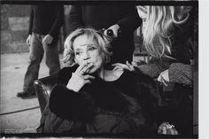 Jeanne Moreau, 2004 for Italian Vogue, Peter Lindberg