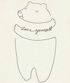 Love Yourself - art print Illustration by Lim Heng Swee Words Quotes, Wise Words, Sayings, Nice Quotes, Just Love, True Love, Baby Clothes Brands, Illustration, Typography Quotes