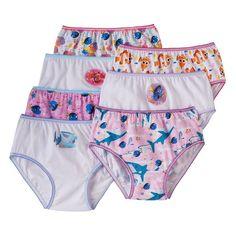 Disney / Pixar Finding Dory Girls 4-8 7-pk. Bikini Panties, Girl's, Size: