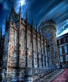 Dublin Castle in Dublin, Ireland