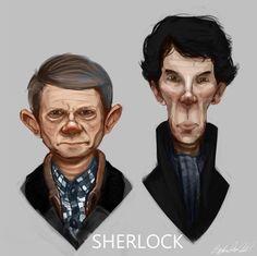 Sherlock High Functioning Sociopath, Perfect Love, Caricature, Sherlock, People, Fictional Characters, Art, Art Background, Kunst