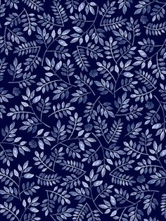 Pattern Play Foliage - by Mahani Del Borrello for Picturette