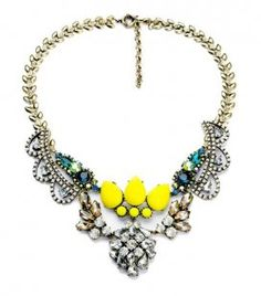 Collar Limón / Lemon Necklace. www.welowe.com