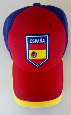 aee8078cd49 ESPANA Soccer Rhinox Adjustable Hat Cap Red Blue  Rhinox  Espanyol