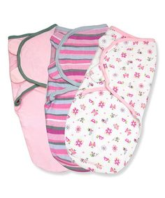 Girly Bug SwaddleMe Set is 50% OFF (more choices for both boys & girls) Baby Week: Safe Sleep Solutions