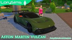 Aston Martin Vulcan at LorySims via Sims 4 Updates Check more at http://sims4updates.net/cars/aston-martin-vulcan-at-lorysims/