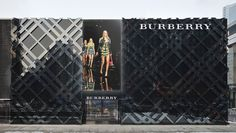 Burberry flagship store, Beijing store design