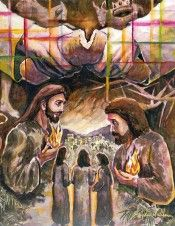 Walk to Emmaus - Andrew Lindberg (Walk on Watercolours)