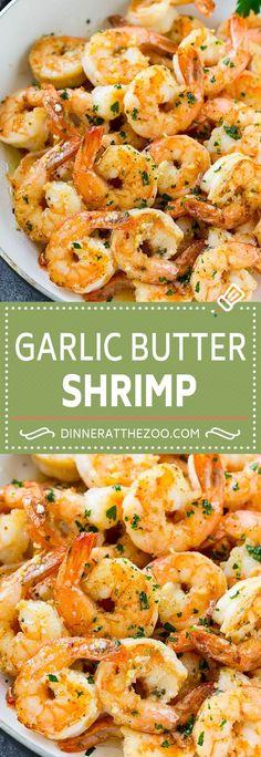 Garlic Butter Shrimp | Easy Shrimp Recipe | Sauteed Shrimp