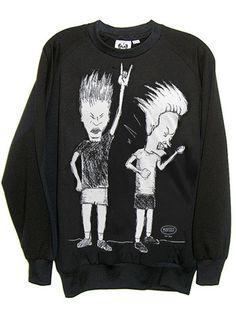 Beavis And Butthead Organic French Terry Sweatshirt – IDILVICE