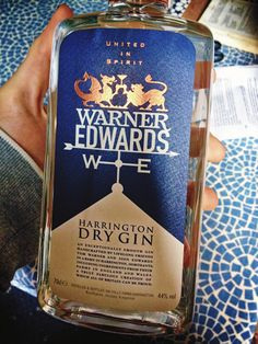 Warner Edwards Dry Gin - Artisan dry gin made by two best friends in a small farm in Harrington, Northants. Available at bars, specialty retailers and my house :3