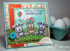 My Little Stampin' Spot: {SSSC} some bunny loves you!