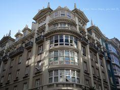 Centro de Coruña (España).
