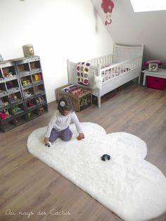 DIY prémes felhő Szőnyeg Land of Cactus 1 Diy Cloud, Kids Corner, Kid Spaces, Diy For Kids, Kids Bedroom, Baby Room, Playroom, Nursery, Cloud