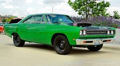 1969 Plymouth Road Runner with the A12 package.