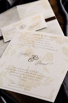 Josephine Invitation - Wedding Invitations & Stationery
