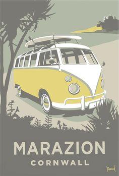 Marazion Camper by Steve Read, whistlefish.com