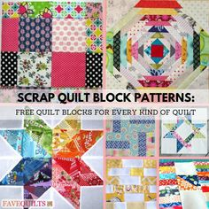 These easy scrap quilt blocks will not only help you use up your stash but also ignite your imagination.