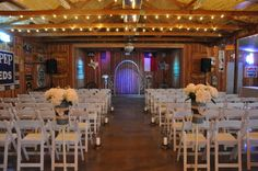 In case of rain (in this case) or extreme heat, we can always set up the ceremony inside, then just move tables in after for the reception.    http://www.townhalltexas.com