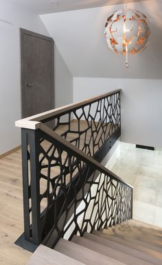 Staircase Railing Design, Interior Stair Railing, Balcony Railing Design, Home Stairs Design, Duplex House Design, Home Room Design, Modern House Design, Door Design, Home Interior Design