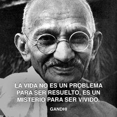 Gandhi - Misterio de la vida