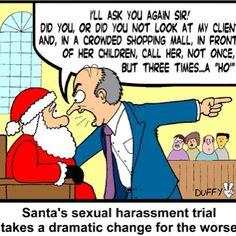 Santa on trial! Lol!!