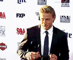 Charlie Hunnam...that damn smile will get you everytime!