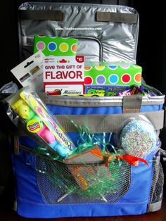 Tackle box alternative to an easter basket for the adventurous boy 10 easter basket ideas for teens and tweens negle Gallery