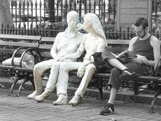 George Segal White Sculptures