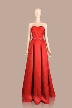 Red Gown Strapless Dress Formal, Formal Dresses, Red Gowns, Phoenix, Fashion, Dresses For Formal, Moda, Formal Gowns