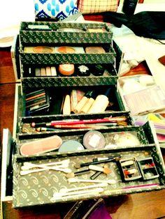 My Make up organizer