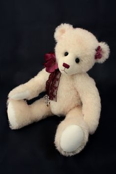 Charlotte  teddy bear pattern by WinkleBearsAU on Etsy, $10.00