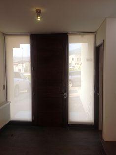 Cortinas de ventanas de puerta en pinterest cortinas de for Puerta oscilobatiente