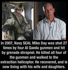A REAL hero-Thank God he survived and took out the enemy as well ! Military Quotes, Military Humor, Military Life, Military Training, Gi Joe, Support Our Troops, Real Hero, American Soldiers, God Bless America