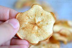Cinnamon Sugar Baked Apple Chips    (3 Ingredients)