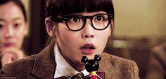 Your joy is my joy. #IU #Wooyoung #gif