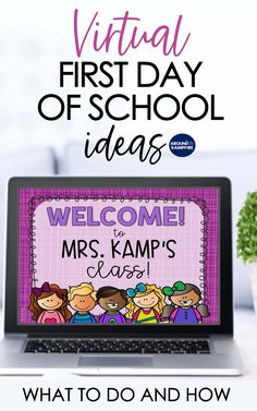 Virtual first day of school activities and lesson plans