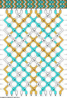 12 strings 16 rows 3 colors