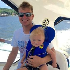 Clint Bowyer (@ClintBowyer) | Twitter - Clint with son Cash