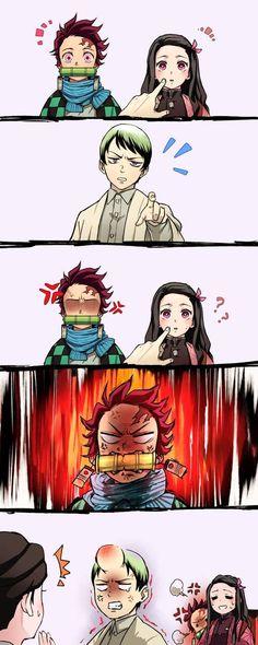 Fan Art Anime, Anime Love, Anime Guys, Otaku Anime, Anime Chibi, Manga Anime, Slayer Meme, Anime Lindo, Demon Hunter