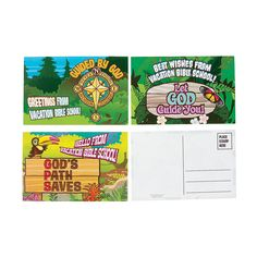 Are You Planning A VBS Camp These Walk His Way Postcards Great For Kids To Send Note From Their Time At Part Of