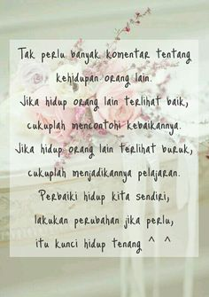 Percayala sayang... Jokes Quotes, Qoutes, Life Quotes, Beautiful Islamic Quotes, Self Reminder, Quotes Indonesia, Life Words, Strong Quotes, People Quotes