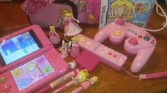 The Year of Princess Peach Kawaii Room, Cute Games, Gamer Room, Retro Aesthetic, Up Girl, Girly Girl, Cute Pink, Wall Collage, Aesthetic Pictures