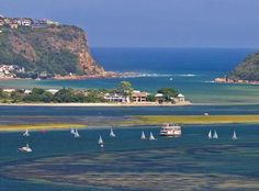 The stunningly beautiful town of Knysna on the Garden Route in South Africa. A great place to visit and shop. Paises Da Africa, Places To Travel, Places To Visit, South Africa Safari, Knysna, Hotel Packages, Port Elizabeth, African Safari, Africa Travel