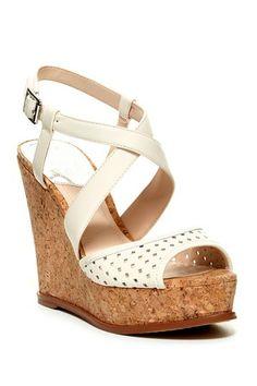 bfa7bfd7f95b7b Vince Camuto Ilario Cork Platform Wedge Sandal by Non Specific on   HauteLook Platform Wedge Sandals