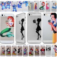 Various-Cartoon-Princess-Series-Hard-Back-Case-Cover-for-Iphone5-5s-4s-5C-6