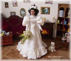 My crochet gown for tonner dolls - Monika St - Álbuns da web do Picasa