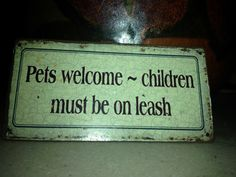 pets always welcome!!
