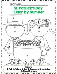 roll and color page for st. patrick's day. learn how to use them ... - St Patricks Day Pictures Color